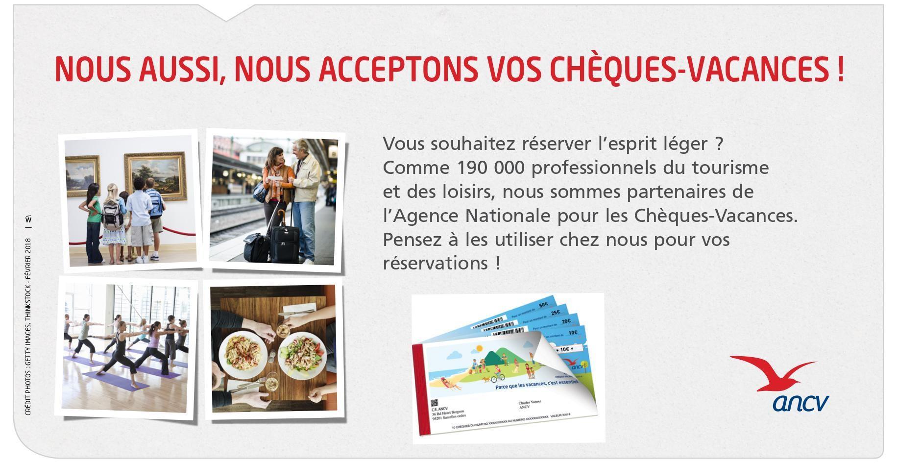Photo cheque vacance